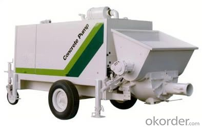 Concrete Pump Trailer Pump Diesel Engine HBTS60