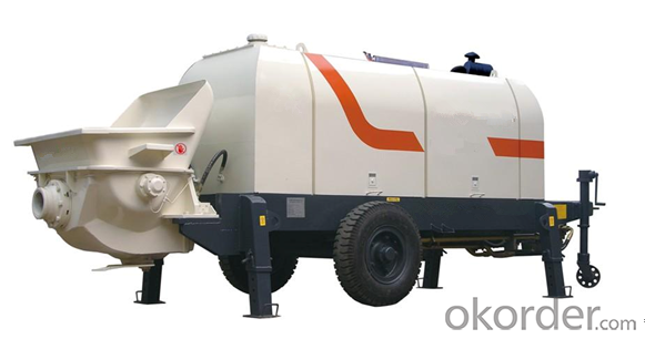 Concrete Pump Trailer Pump Diesel Engine HBTS40