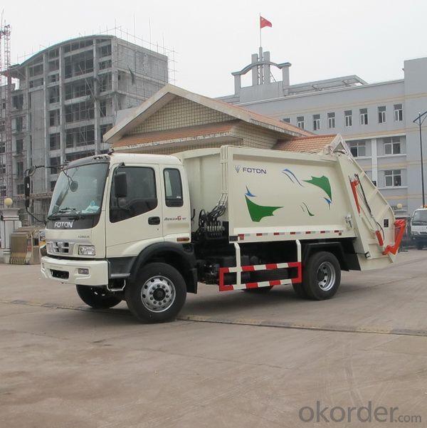 Garbage Compactor Truck  4X2 8cbm 10cbm