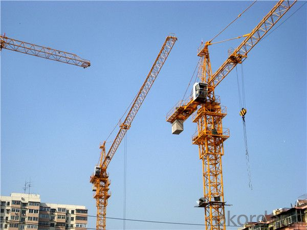 60/10 Topkit 10 Tons Tower Crane for Construction