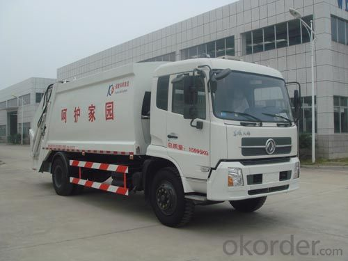 Container Garbage Truck 18m3 Detachable