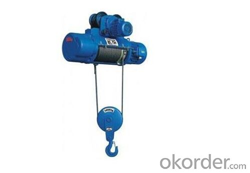 980KG electric chain hoist with electric trolley