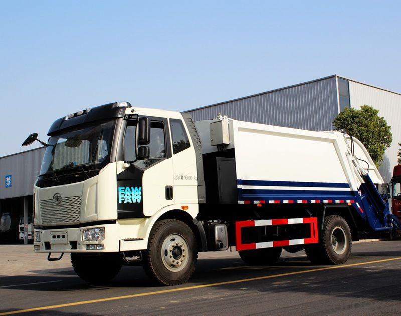 Compactor Garbage Truck 8m3 Waste CE