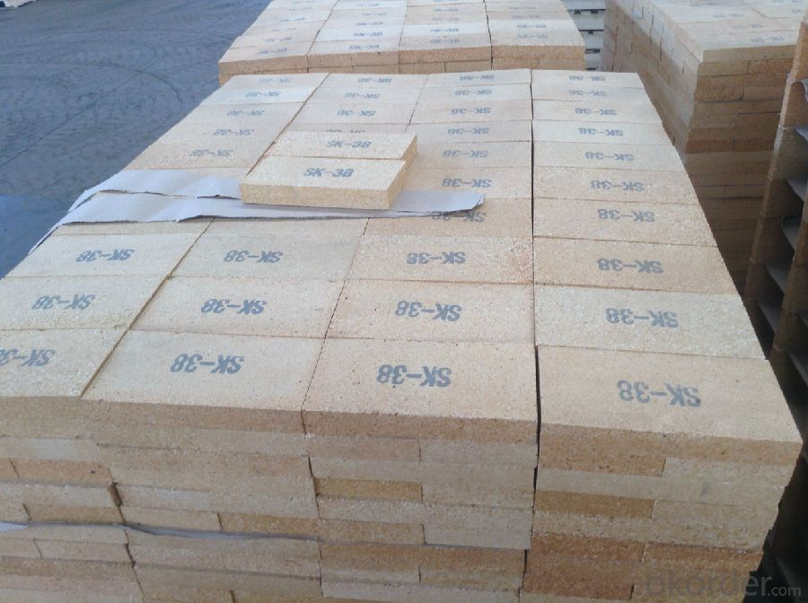 Refractory Fireclay Brick with Al2O3 Content around 31%