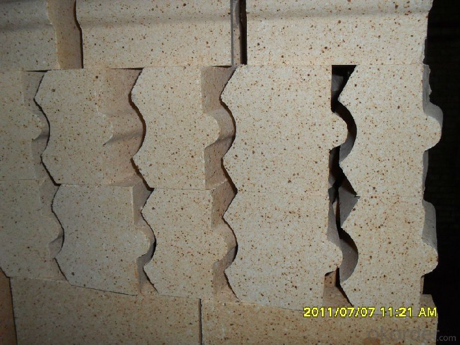Refractory Fireclay Brick with Al2O3 content around 45%