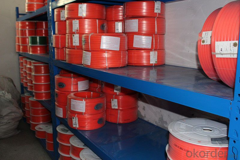 High Tensile Strength Polyurethane Round Belt , Urethane Drive Belts