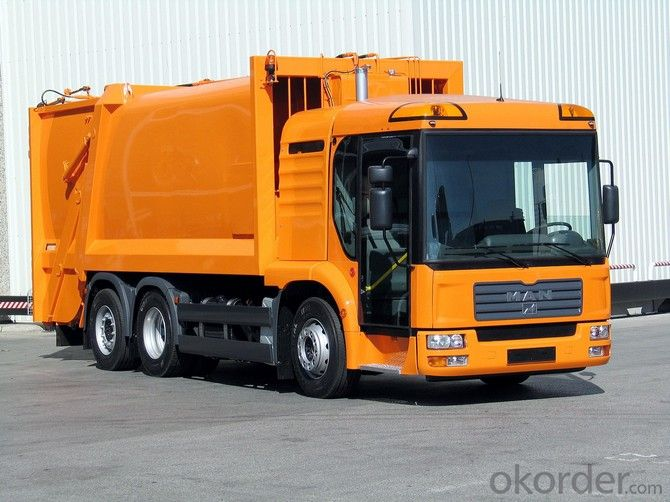 Compactor Garbage Truck for Rubbish Collecting