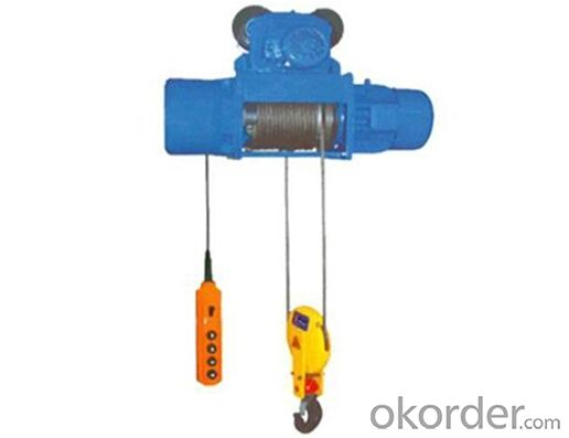 10t MD1 wirerope electric cable hoist High Quality