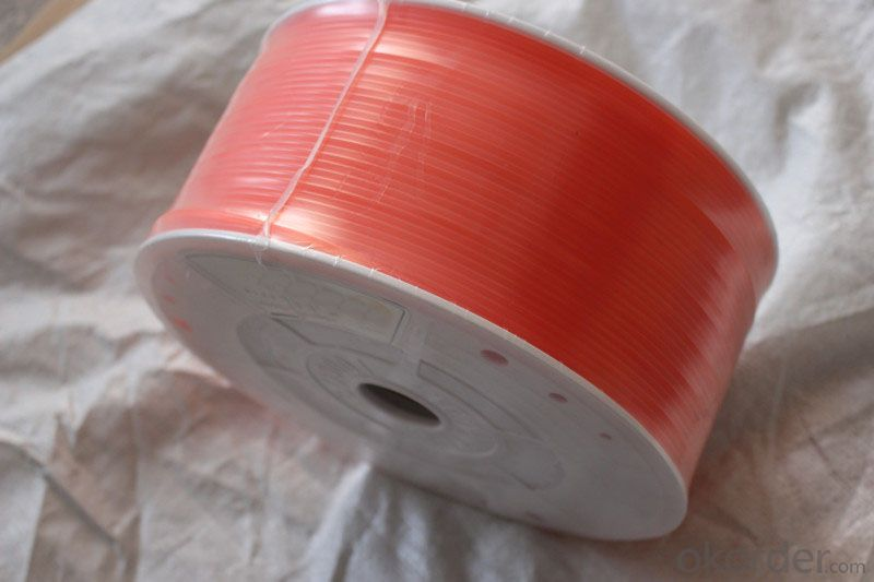 Smooth Urethane Round Belting 300m/roll Reinforced Abrasion Resistance