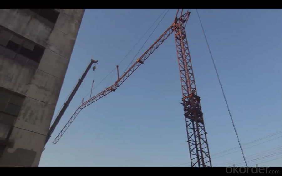 CMAX QTK25 Model Self Erection Tower Crane