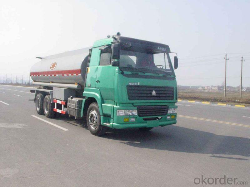 Fuel Tank Truck 6X4 25m3 Shanqi D'long 8*4