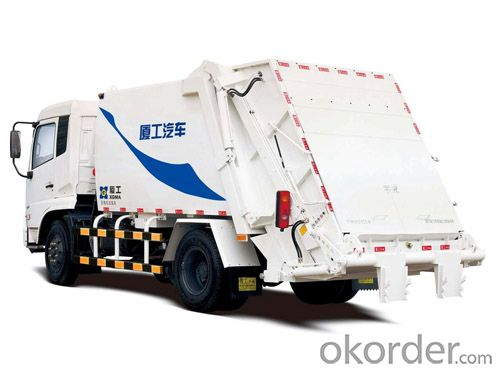 Garbage Compactor Truck Factory Direct Selling Compressed