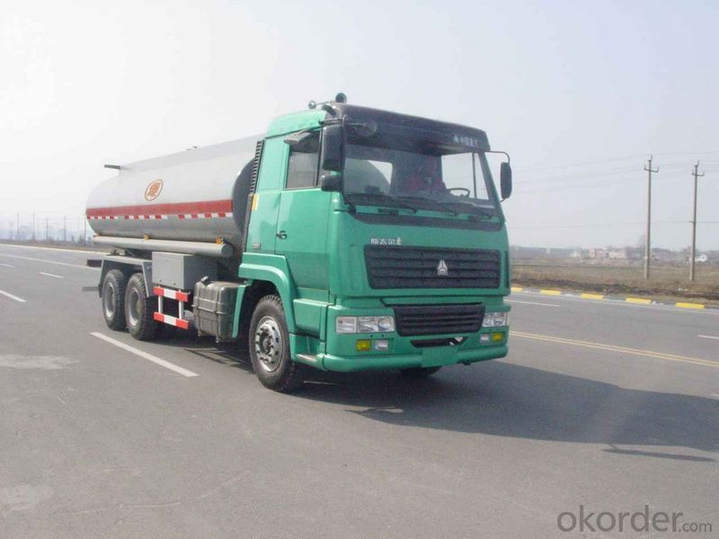 Fuel Tank Truck  8X4 for Crude Oil, Diesel and Petrol