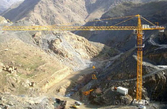 Model TC5610-6 Tower crane ,Work in Different Forms