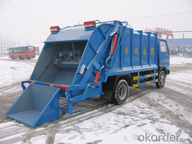Garbage Truck 3t 4cubic Hook Arm