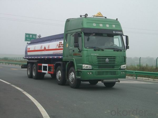 Fuel Tank Truck  22500L Aluminum Alloy for Light Diesel Oil Delivery