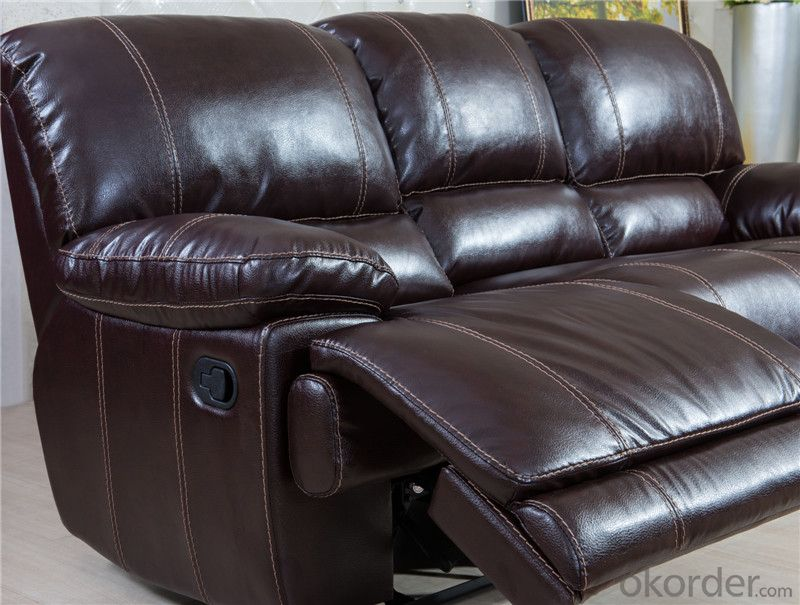 Electrical Recliner Sofa with Genuine Leather