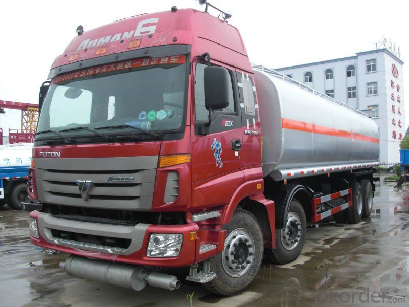 Tank Truck Fuel Tank Truck Heavy Duty 350HP 8X4 25000L