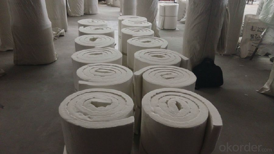 Ceramic FIber Blanket Refractory Blanket 1260C HP