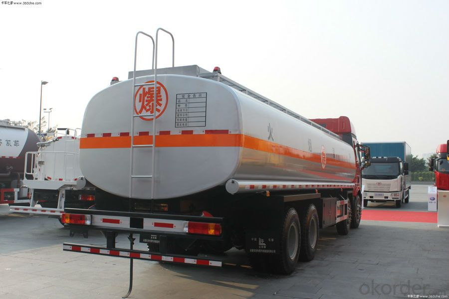 Fuel Tank Trailer Truck High Security  (HZZ5255GJY) for Oil Delivery