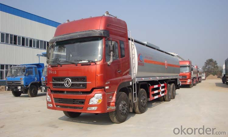 Fuel Tank Trailer Truck for Oil Delivery