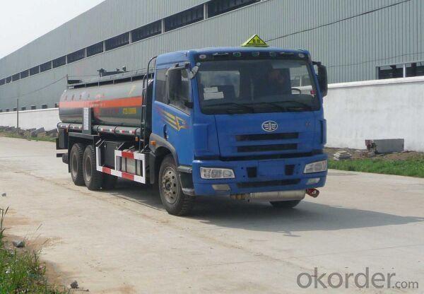Tank Truck 12000L 15000L Oil Transport Tanker Truck Fuel