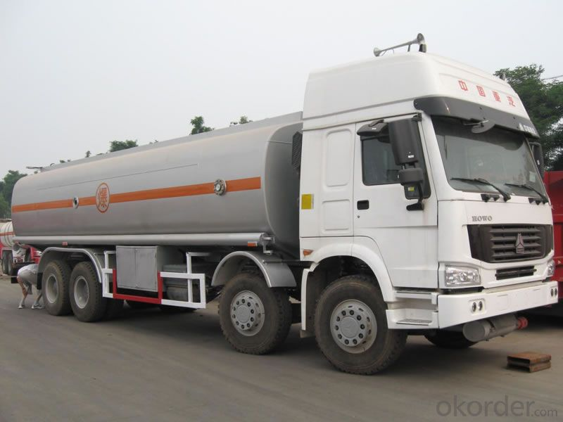Fuel Tank Truck  Heavy Duty Truck 8*4