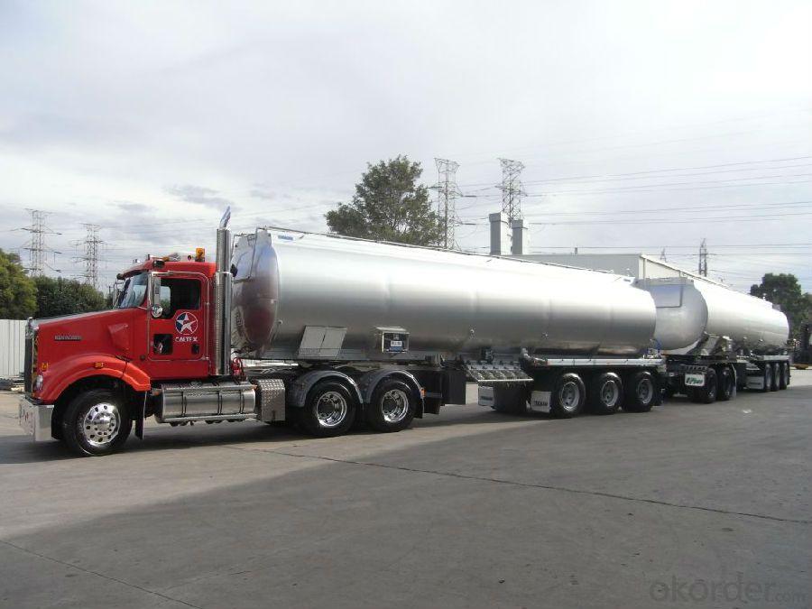 Fuel Tank Truck Heavy Duty 3-Axle  6X4 Fuel Tank Trailer Truck