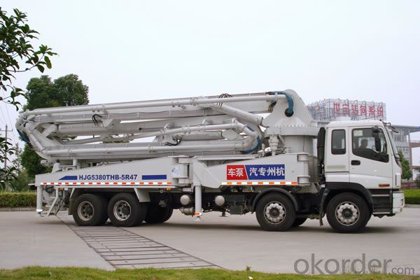 Concrete Pump  Truck Mounted Hb41