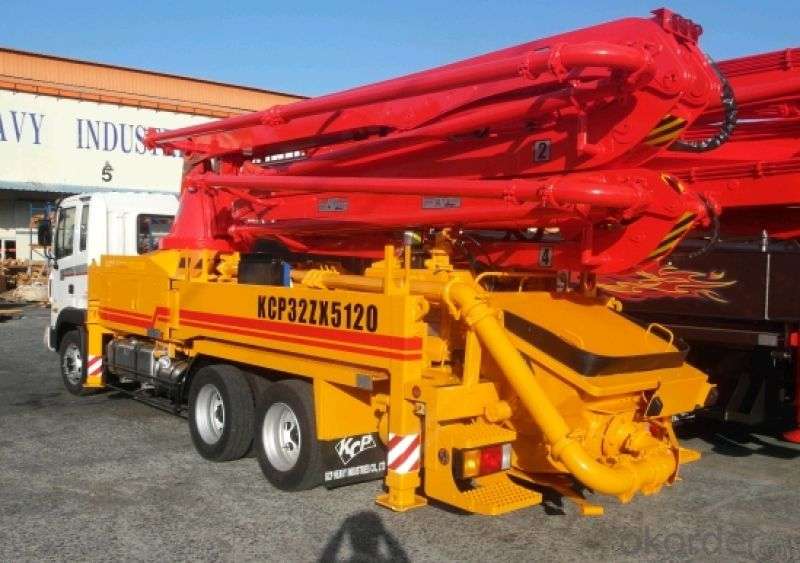Concrete Pump Schwing (34 M)  with Truck Head