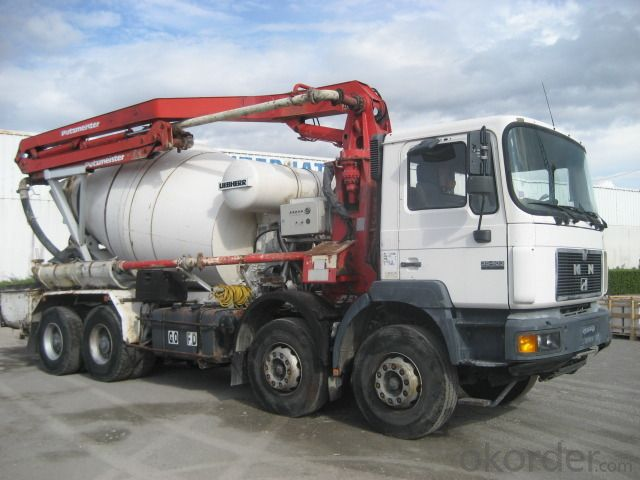 Mounted Concrete Pump  37m Truck