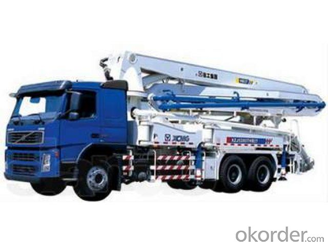 Concrete Pump Truck 48m  Truck-Mounted  of 42meters