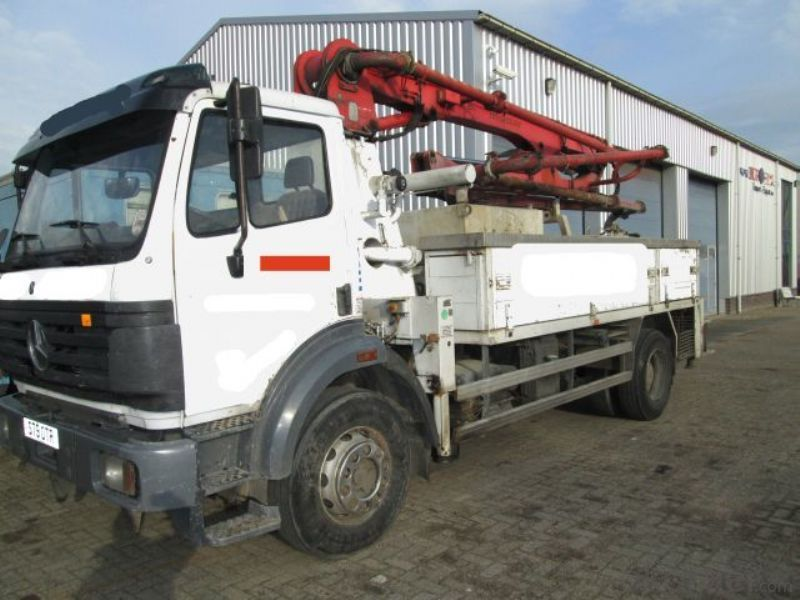 Concrete Pump 24m to 52m Truck-Mounted