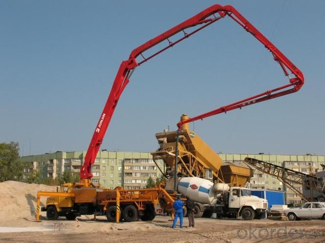 Concrete Pump Truck 48m  28m Truck  for Sale