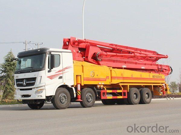 Concrete Pump Truck 6X4 Heavy Duty (TP37R4U)