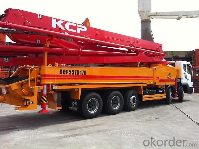 Concrete Pump Truck 24m to 52m Boom