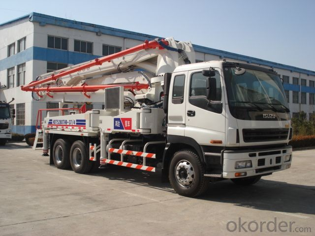Concrete Pump  Hot Sale Truck Mounted of 47meters