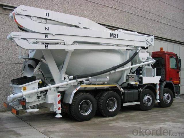 Concrete Pump Truck Hot Sale  of 24meters