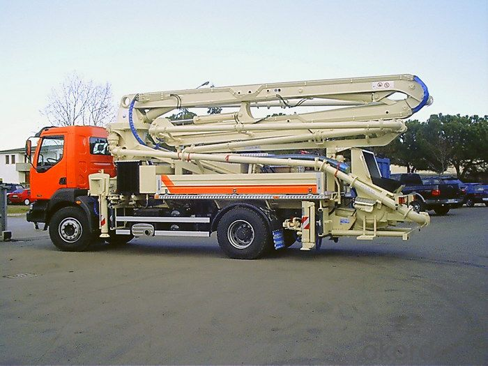 Pump Truck 85km/H 66m Long Boom Concrete