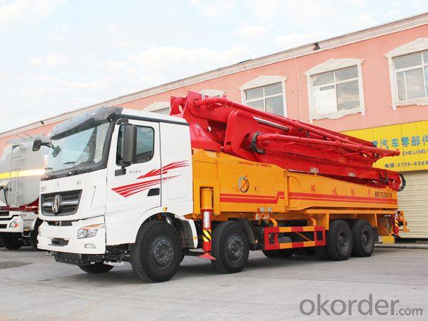 Concrete Pump Truck 37m Truck-Mounted  (HB37A)