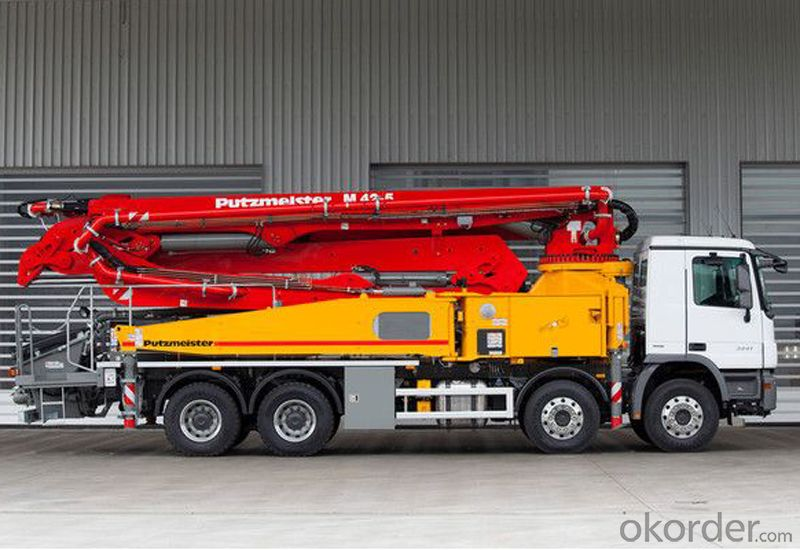 Concrete Pump 40m Truck-Mounted  Hb40