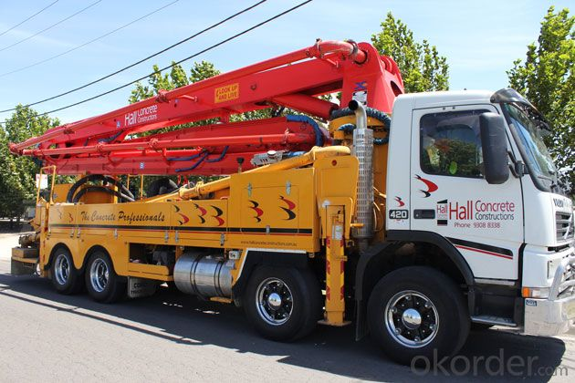 Concrete Pump Truck-Mounted or Sale Jh5190thb-32
