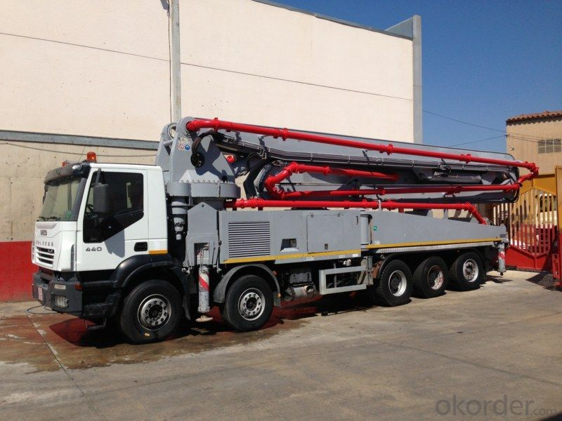 Concrete Pump Truck  Chassis Used Schwing  (2003, 350~450HP)