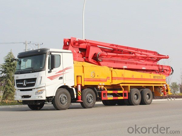 Concrete Pump Diesel Engine 181kw  Truck CE