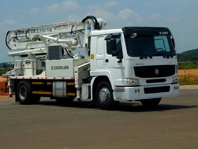 Concrete Pump Truck Used  37m  (SYG5502THB)