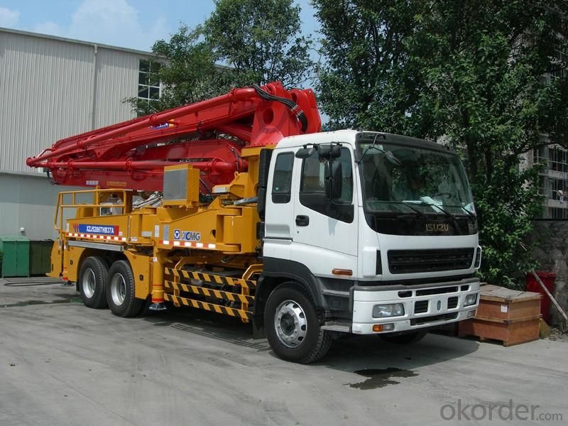 Concrete Pump Truck  (SY5383THB-48)