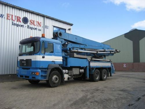 Concrete Pump Truck Mounted  37m