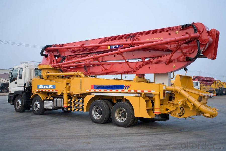 Truck-Mounted Concrete Pump Truck (HB37A)