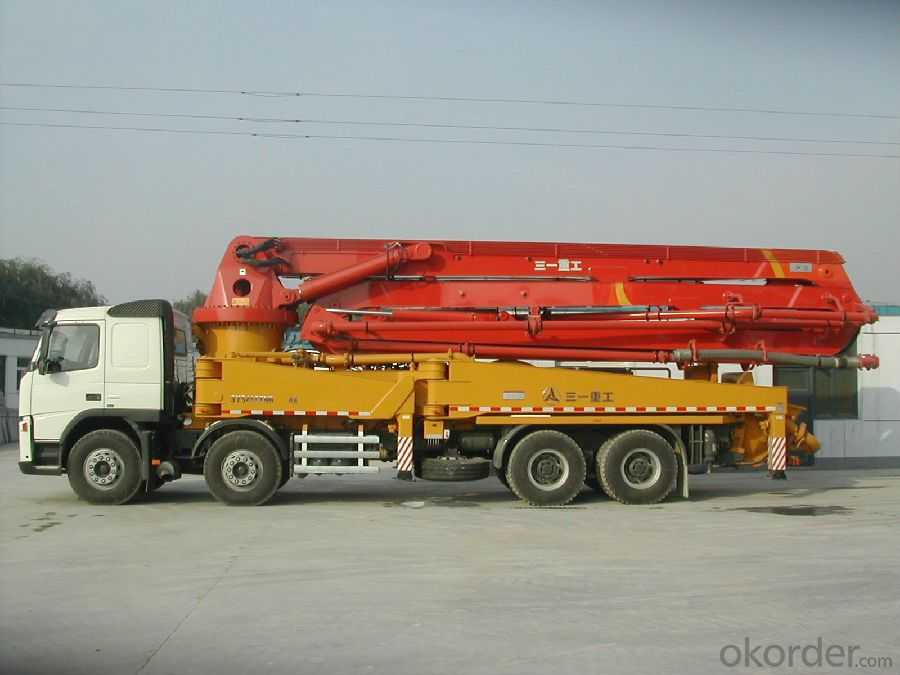 Concrete  Pump  Truck-Mounted Sy5190thb25