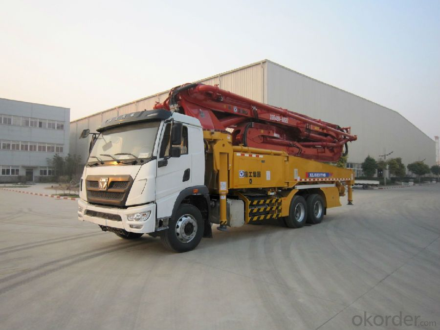 Concrete Pump Brand 37m  with Truck (HB37A)
